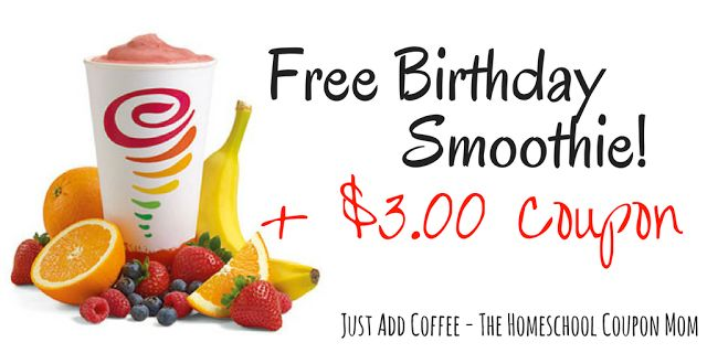 JustAddCoffee- The Homeschool Coupon Mom : Join Jumba Juice Insiders For A Free…