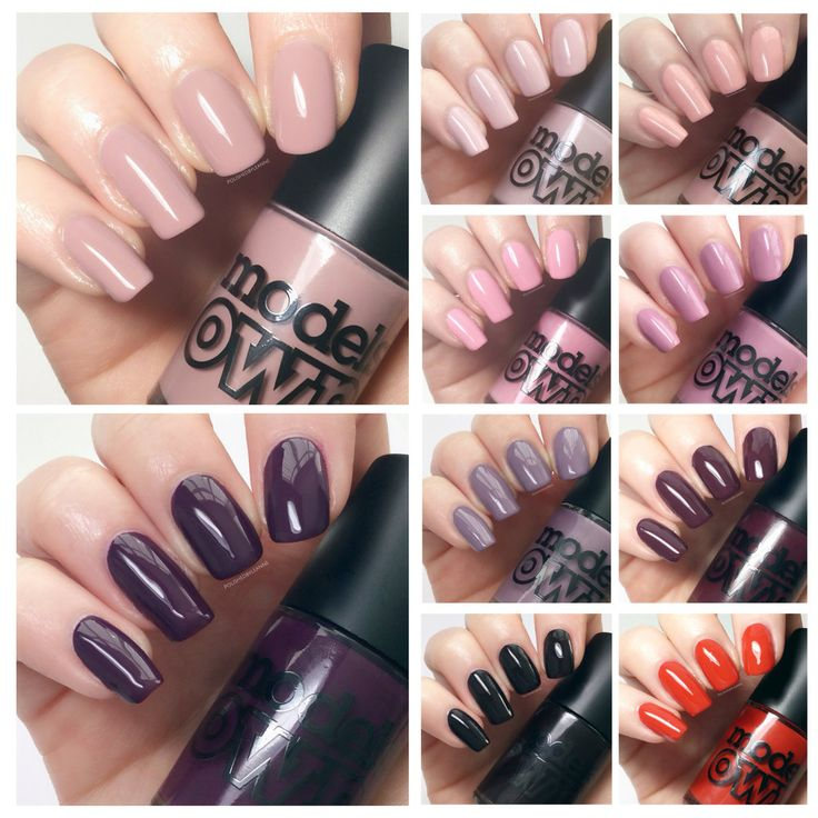 **items were gifted to me for swatching and reviewing** Good morning everyone, today I want to show you the new Models Own autumn polish collection which they very kindly sent me for swatching. These colours are all available in the Leeds Trinity and Stratford Westfield stores, but will als