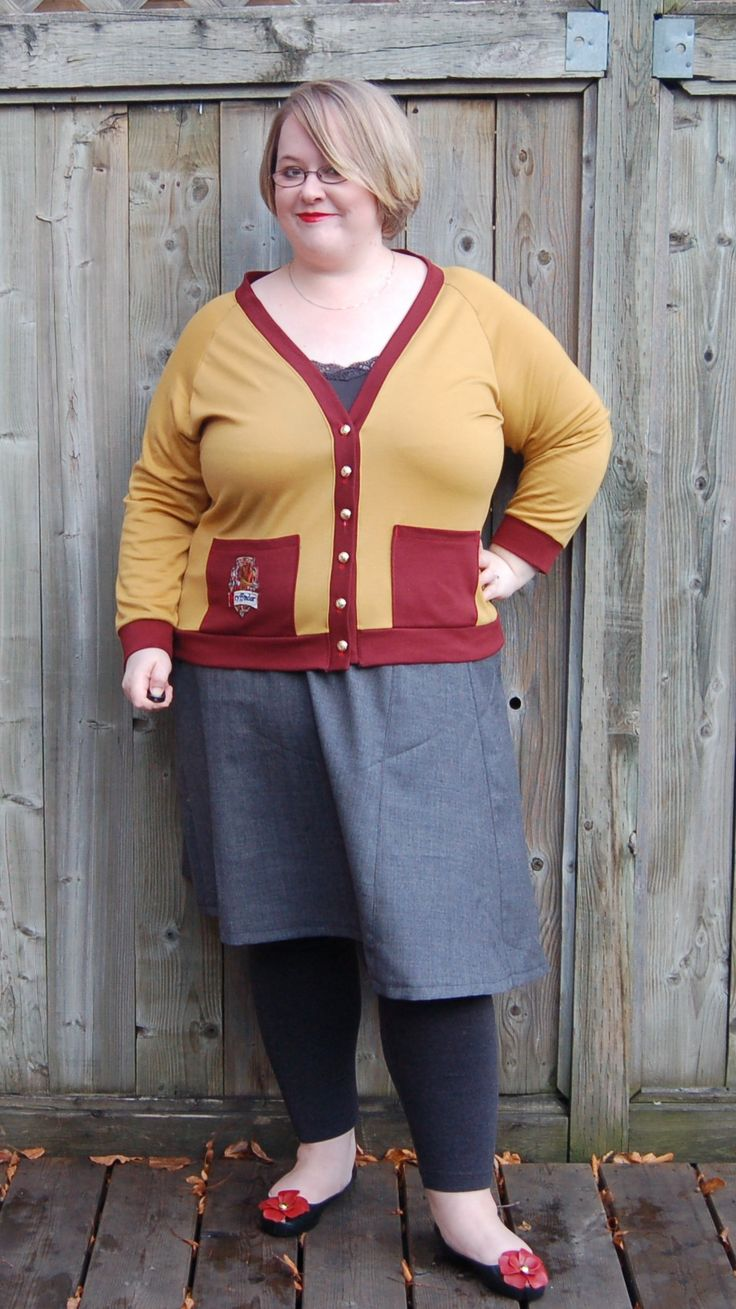 Tahi skirt and Sophie cardi by Sew Pretty In Pink