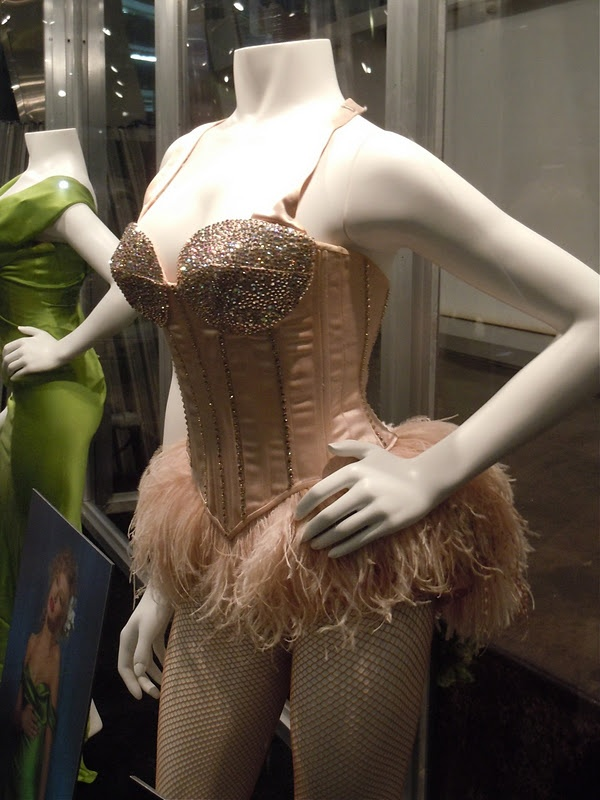 Burlesque movie costume. Terrible movie, lovely costume