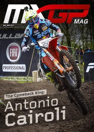 MXGP #44 May 2017  Youthstream is proud to announce that the forty-fourth issue of the MXGP Mag is now online. This month it features Antonio Cairoli on the cover as the rider of the month after his amazing Trentino comeback and it includes the best of the MXGP of Trentino and Europe.