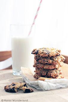 Schoko-Haferflocken-Cookies (von Maras Wunderland)