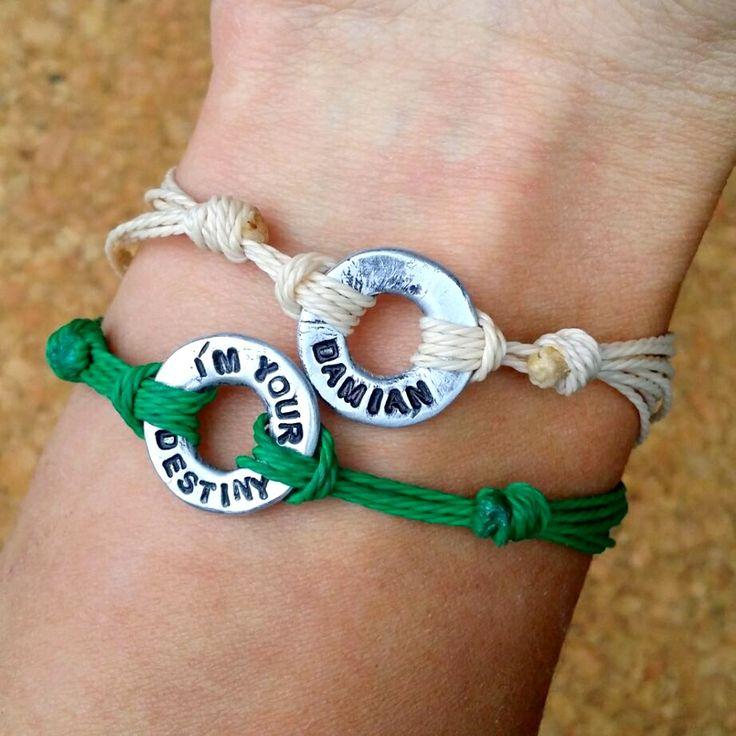 personalized strings bracelets, unisex bracelets