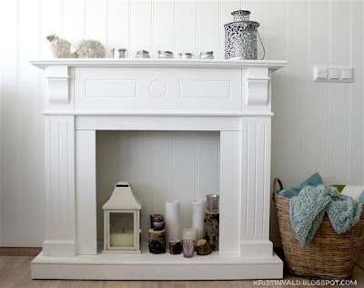 If I had a bigger place I would most definitely get this candle fireplace!