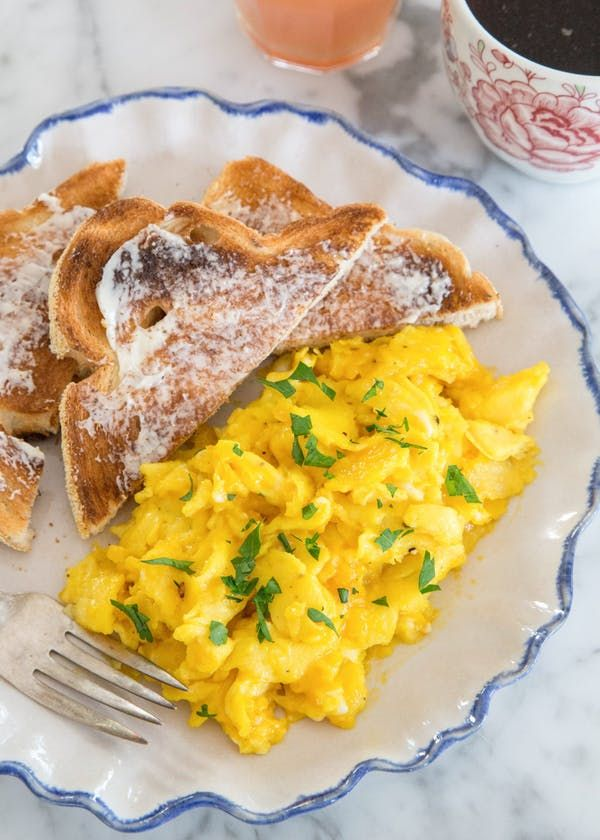 The Secret Ingredient for Creamy Scrambled Eggs | Kitchn