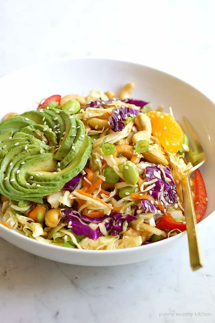 50 Amazing Vegan Asian Recipes In 2020 Vegan Asian Recipes Vegetarian Recipes Healthy Asian Salad Recipe