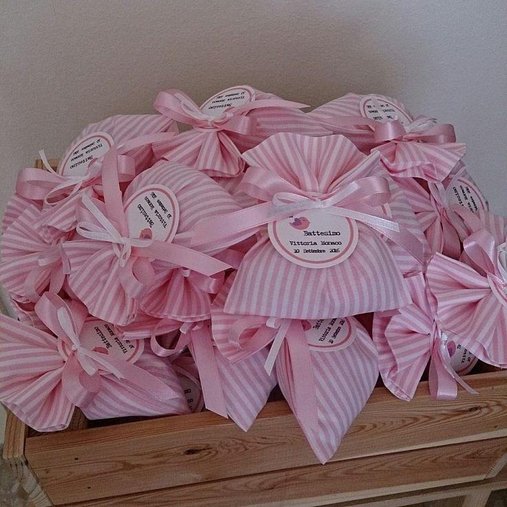 Righine bianche e rosa 💗