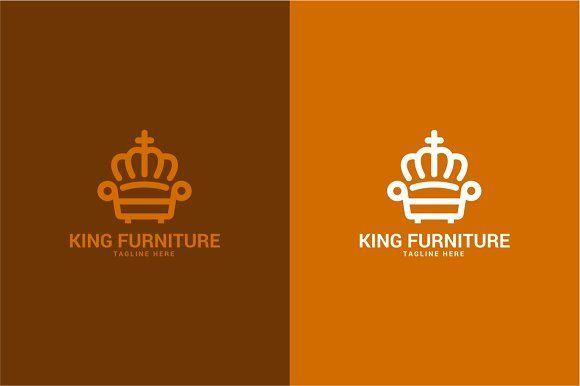 Royal King Furniture Logo King Furniture Furniture Logo Professional Logo Design