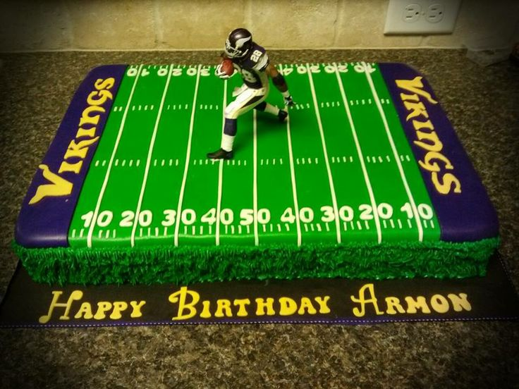 Adrian Peterson Birthday Cake