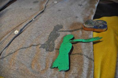 Rojo Pistacho : DIY chaqueta El Pricipito con moldes de gomaeva