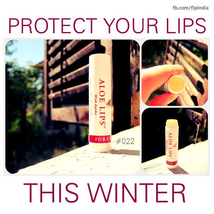 Protect your lips this winter.