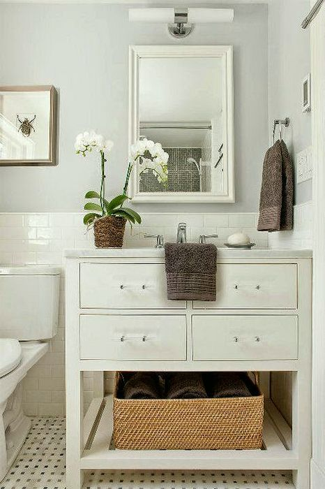 What is the Best Palette for No Fail Paint Colors? - laurel home | everyone's favorite pale gray with a hint of blue/green - Benjamin Moore Horizon 1478. Looks especially wonderful in bathrooms with bright white trim