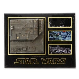 Original Movie Prop - Star Wars: Episode IV - A New Hope - Large Model Miniature Death Star Surface Section Display - Authentic   by PropStore Disclosure Affiliate Link