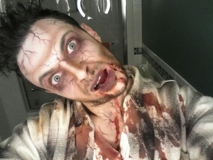 Walking Dead Zombie Makeup