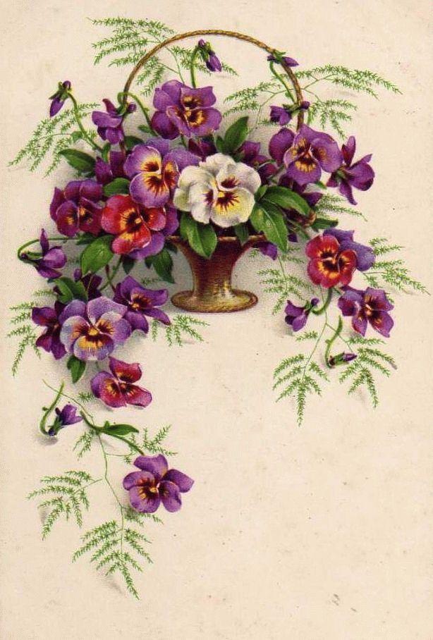 Дмитрий днем, старинные открытки цветы