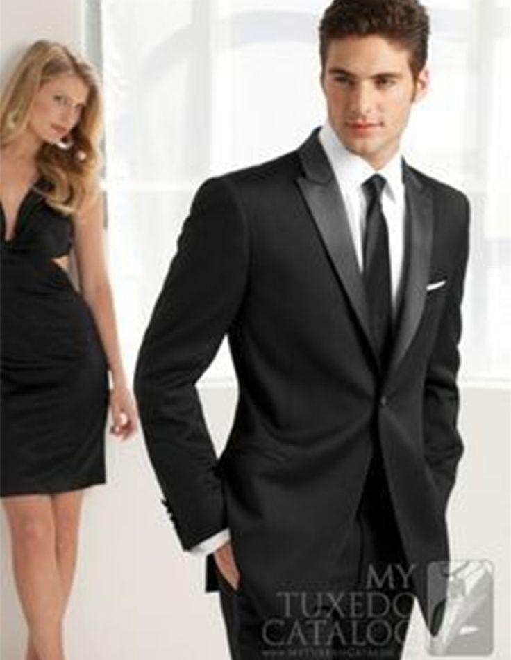 mens beach wedding suits groom tuxedo slim fit black high quality custom made suit 2016