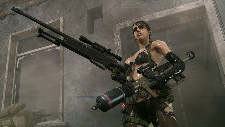 Metal Gear Quiet Metalgear Quiet Game Metal Gear Solid Metal Gear Metal Gear Solid Quiet