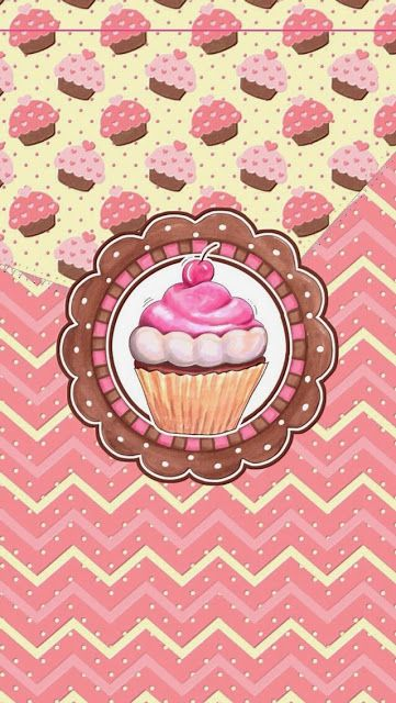 ❣Sweet Cupcakes Wallpaper by iCandy❣