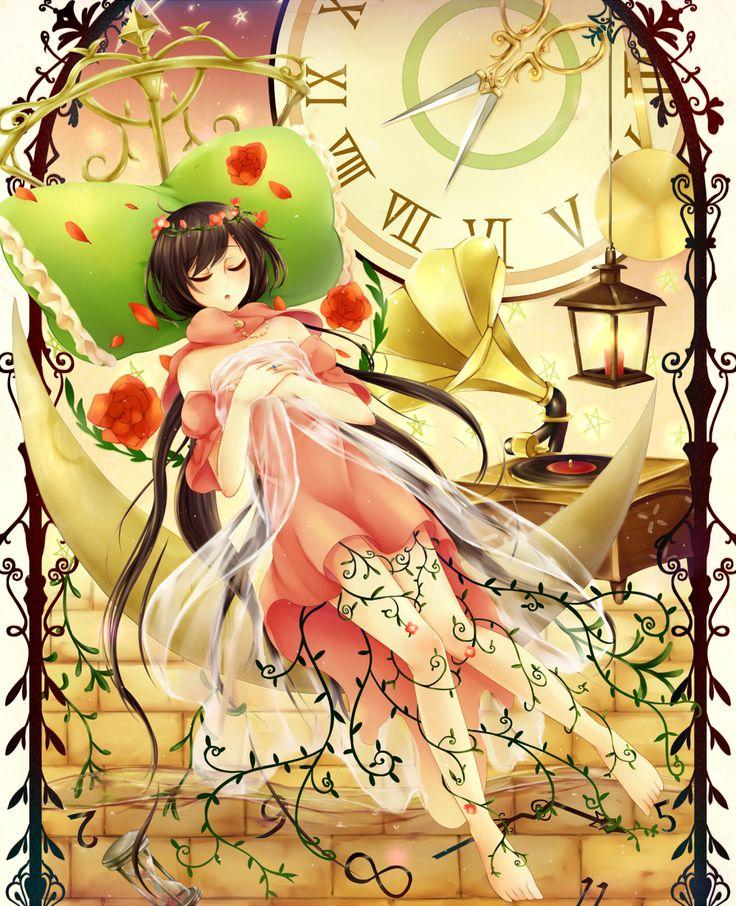 Sleeping beauty | Anime, Art, Sleeping beauty