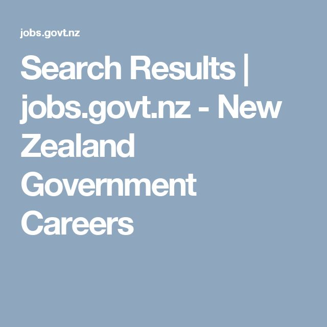 Project Search Results | jobs.govt.nz - New Zealand Government Careers