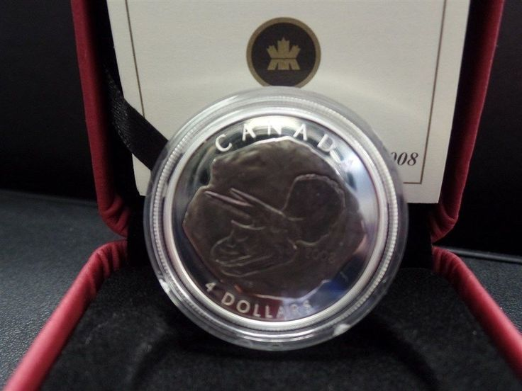 Item specifics     Circulated/Uncirculated:   Uncirculated   Country/Region of Manufacture:   Canada     Certification:   Uncertified      2008 Canada Triceratops Fossil $4 Silver Coin  Price : $41.95 ...