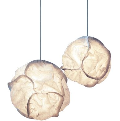 Hive - Cloud Pendant Lamp - on sale $385; (design by Frank Gehry; white polyester fleece with steel metal frame)