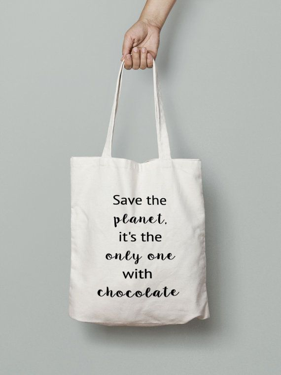 Hey, I found this really awesome Etsy listing at https://www.etsy.com/au/listing/242438952/chocolate-tote-bag-shopping-tote-bag