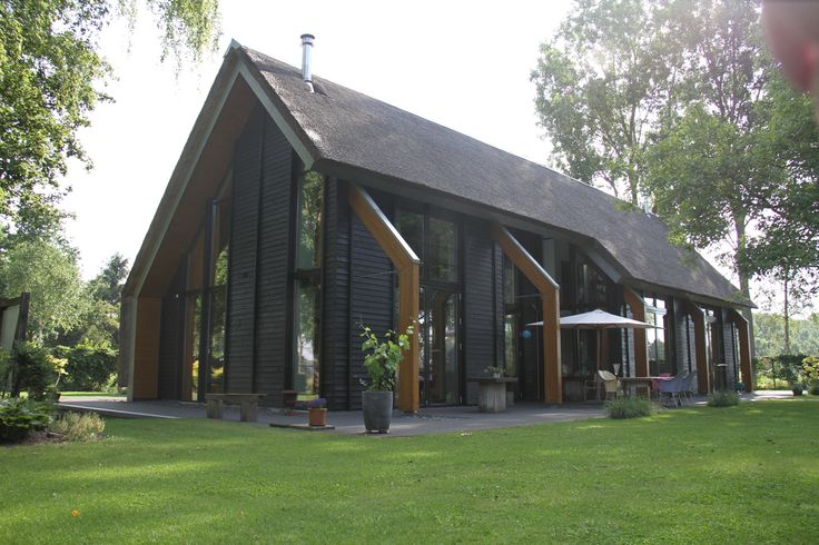 Modern barn, with a cathedral feel