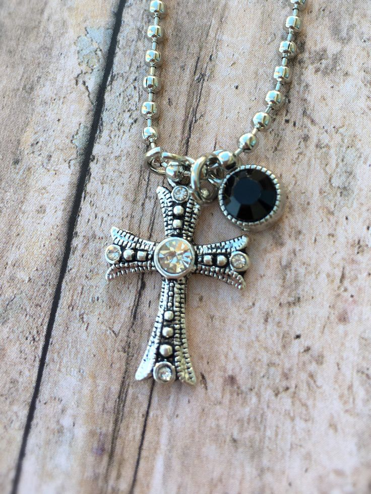 Silver cross necklace, religious necklace, by ZoeBeautifulBoutique on Etsy https://www.etsy.com/listing/505568298/silver-cross-necklace-religious-necklace
