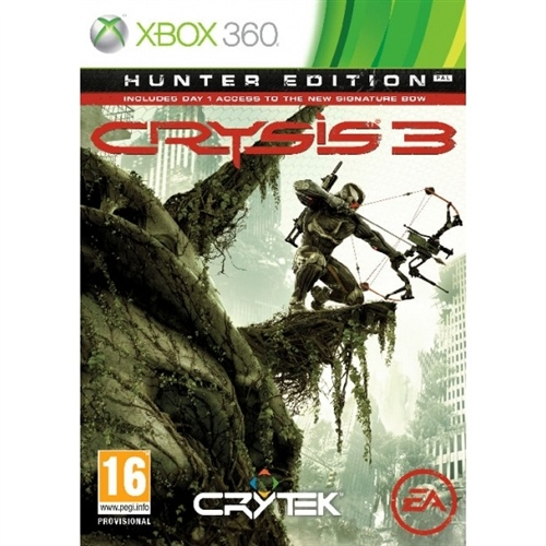 Crysis 3 Hunter Edition Xbox 360. Pre Order Deal. Released February 22.$59
