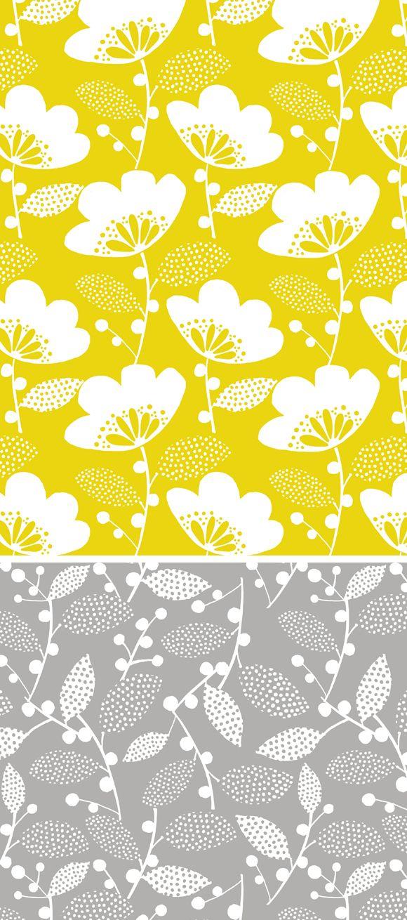 wendy kendall designs – freelance surface pattern designer » freya floral