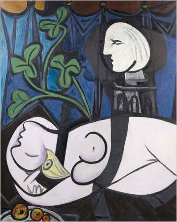 Das dritte Gemälde von Pablo Picasso in den Top Ten der teuersten Gemälde aller Zeiten. Es soll Picassos Geliebte Marie-Thérèse Walter zeigen. Bei einer Versteigerung von Christie's im Jahr 2010 erzielte das Gemälde aus der produkivsten Phase des Künstlers einen damaligen Rekordwert von 106,5 Millionen Dollar inklusive Gebühren. Der Käufer blieb unbekannt.