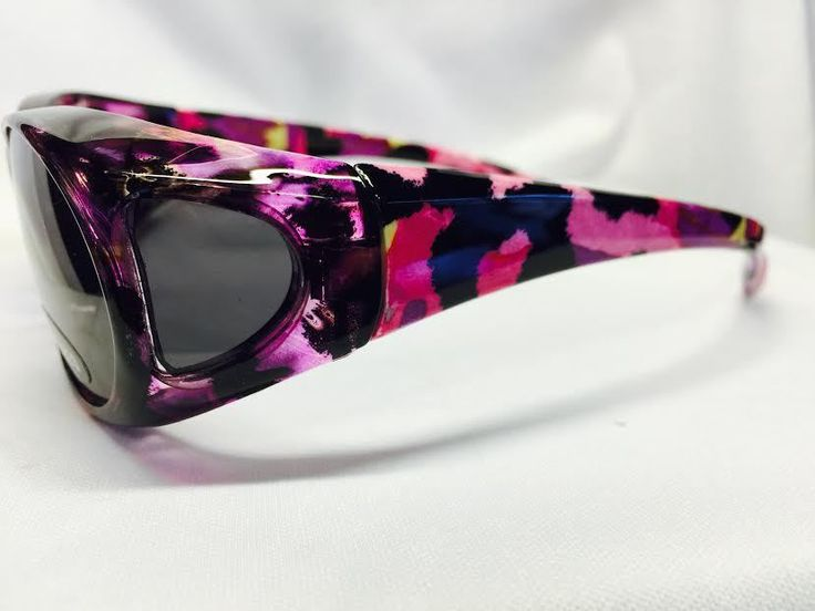 Women FIT OVER PRESCRIPTION GLASSES SUNGLASSES FREE CASE COVER OVER RX WRAP #SunRayz #Shield