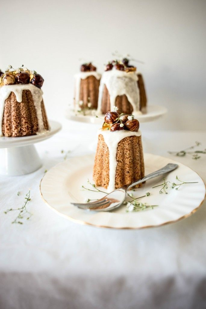 Miniature Beurre Noisette and Hazelnut Cakes from Butter and Brioche
