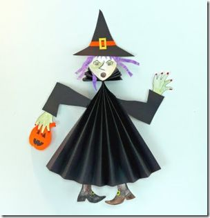 * halloween craft witch