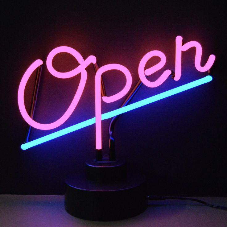 Neonetics Open Neon Sculpture