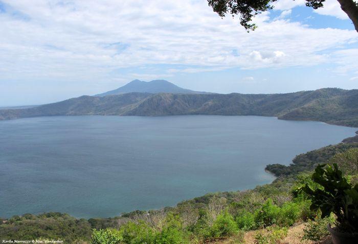 Overlooking Nicaragua's Laguna de Apoyo, an idyllic volcanic crater lake.