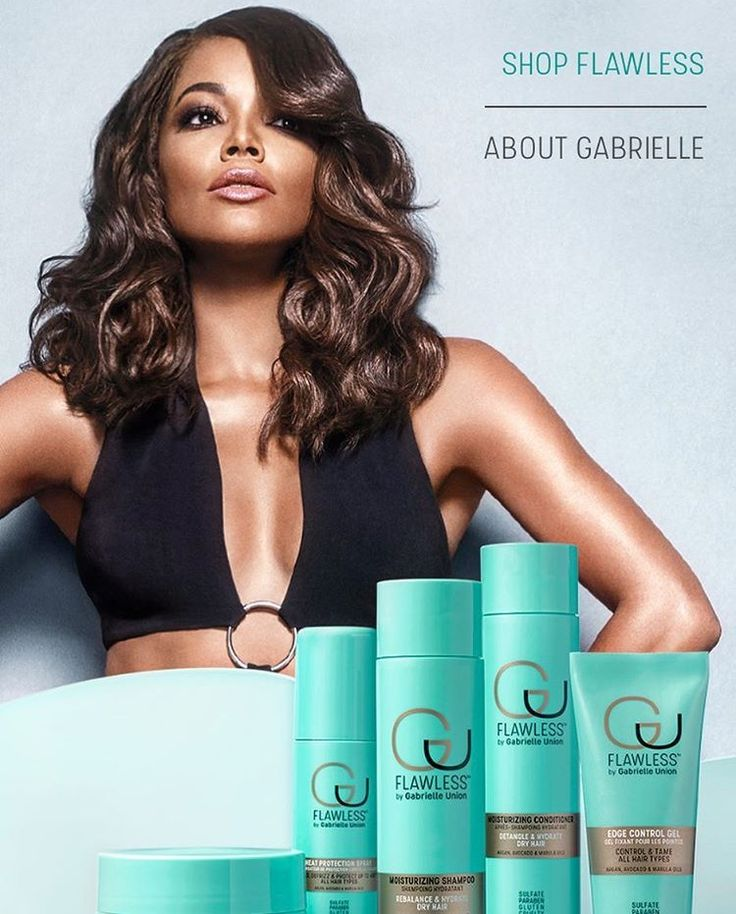 BRING IT ON! Gabrielle Union is giving a new reasons to shake and cheer. The actress recently launched her brand new haircare collection, Flawless by Gabrielle Union