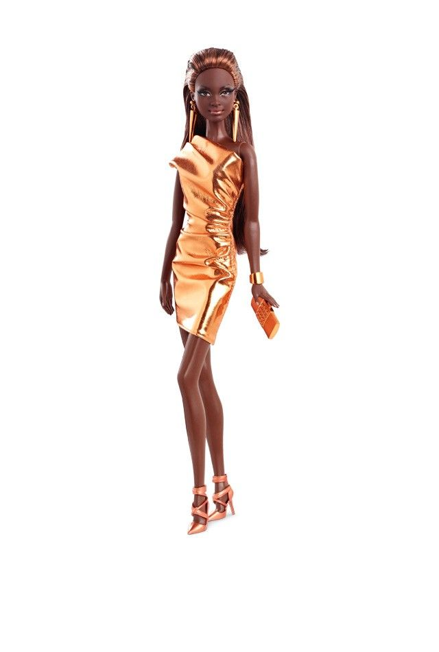 City Shine™ Barbie® Doll - Bronze Dress   Barbie Collector  i bought one of these today at walmart because she was so beautiful!!