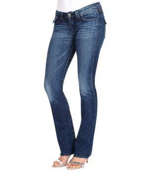 True Religion Straight Leg Billy Jean - True Religion