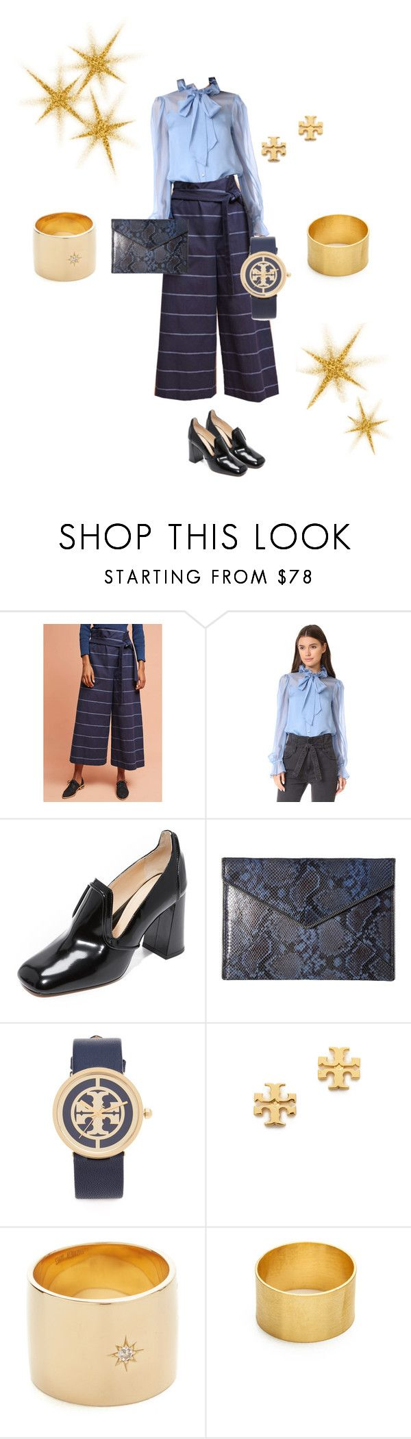 """""""Sasha"""" by lannlpz ❤ liked on Polyvore featuring Mara Hoffman, Temperley London, Marion Parke, Rebecca Minkoff, Tory Burch, Elizabeth and James and Maya Magal"""