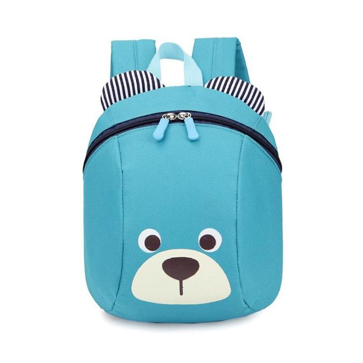 2017 famous brand Safety Harnesses For girls boys canvas school bags cartoon Bear Baby Backpack Anti Lost Children backpacks