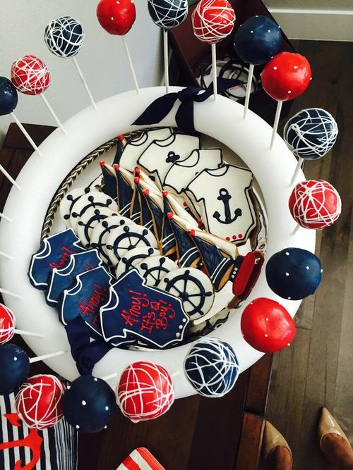 Ahoy its A Boy!! - A Nautical Themed Baby Shower — Denver Darling | Lifestyle + Fashion Blog