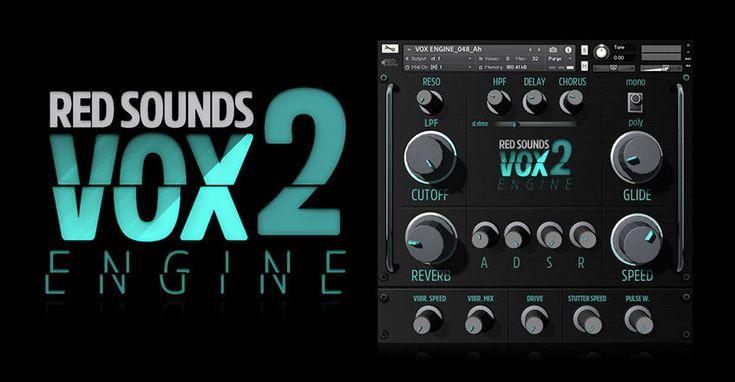 Red Sounds VOX Engine 2 Kontakt Vocal Instrument Sound