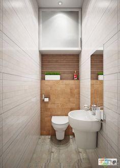 Полка и шкафчик в туалете