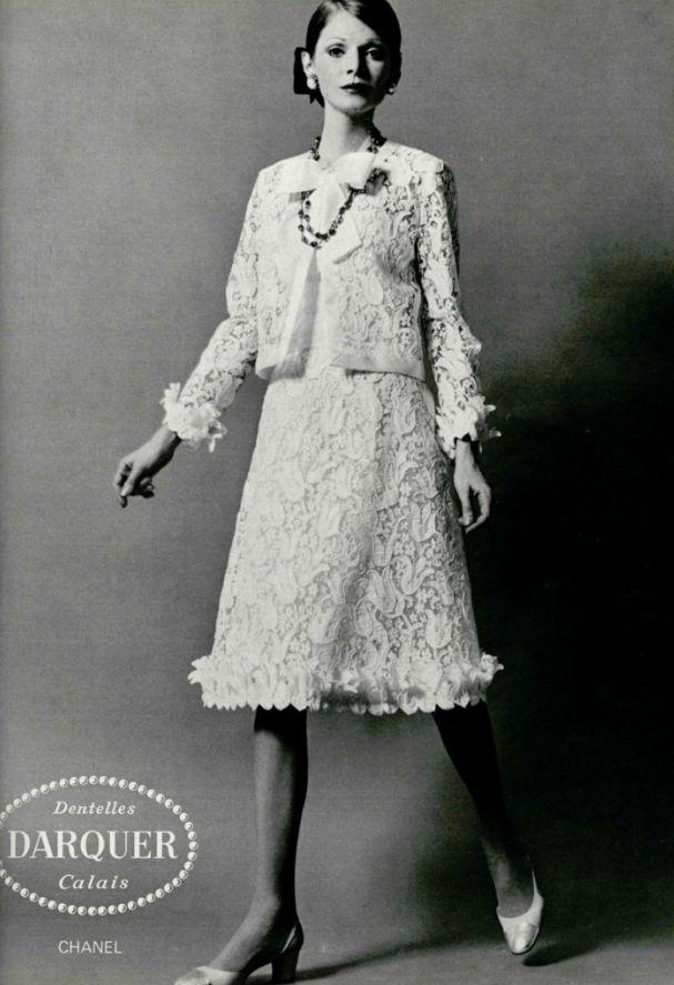 1971 - Chanel lace suit