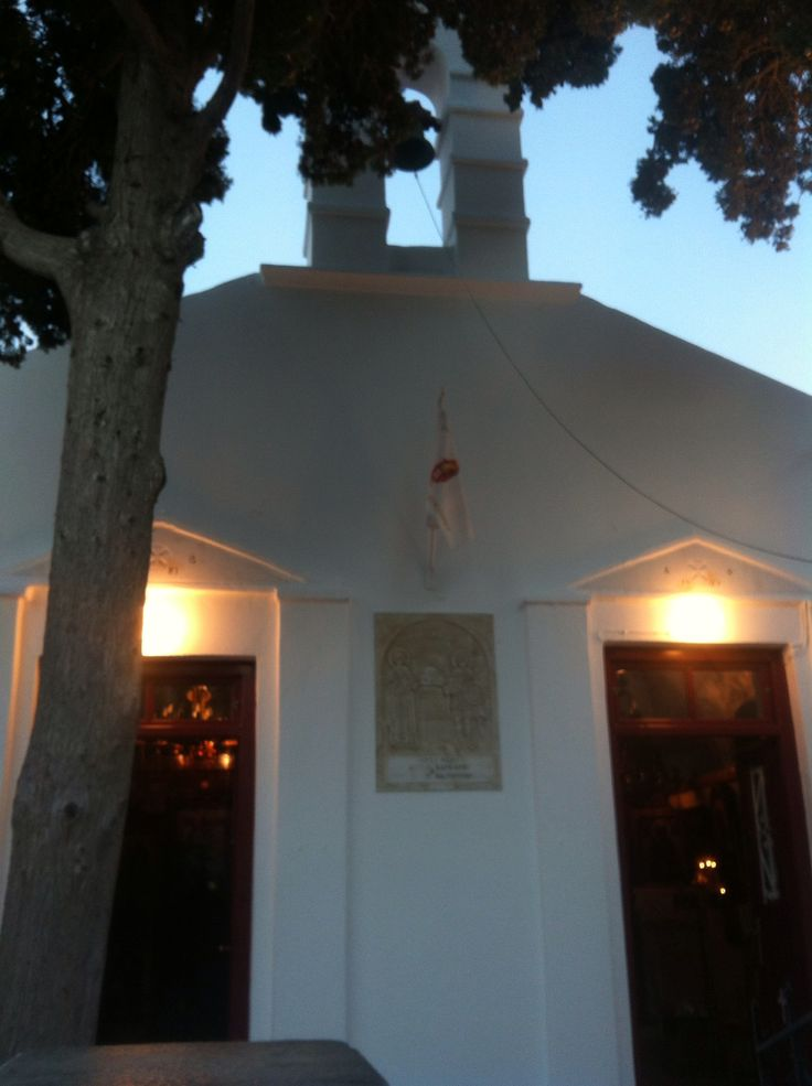 One of the 365 churches on the island
