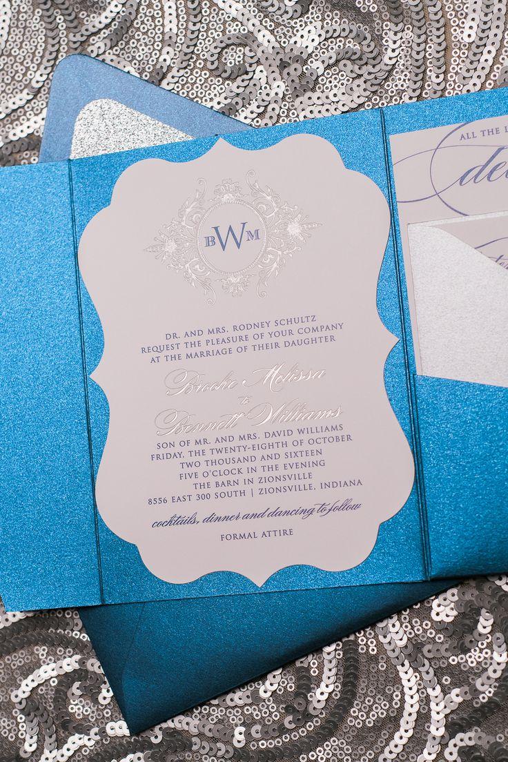 wedding stationery folders%0A Real Wedding  Brooke and Bennett