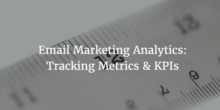 A how-to on email marketing analytics and  tracking important campaign metrics…
