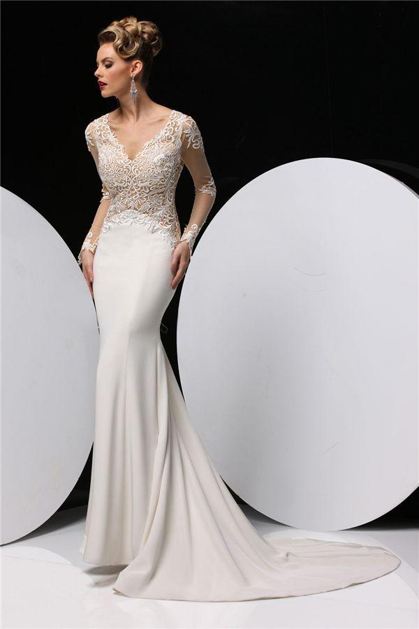 Elegant Simone Carvalli Wedding Dresses We Love